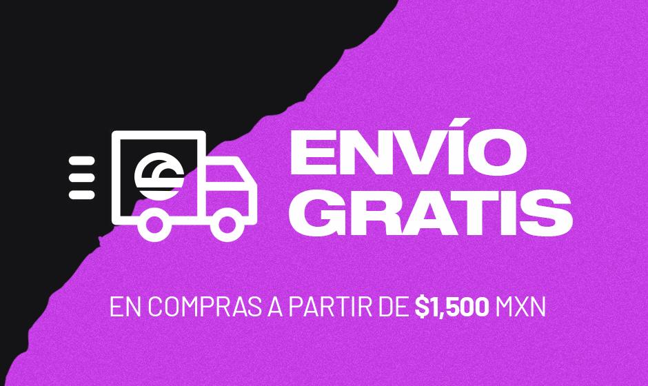 Envio gratis en la compra de $1,500 mxn o más