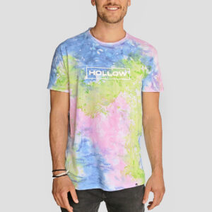 Tie Dye Rainbow Playera Hollow Mexico