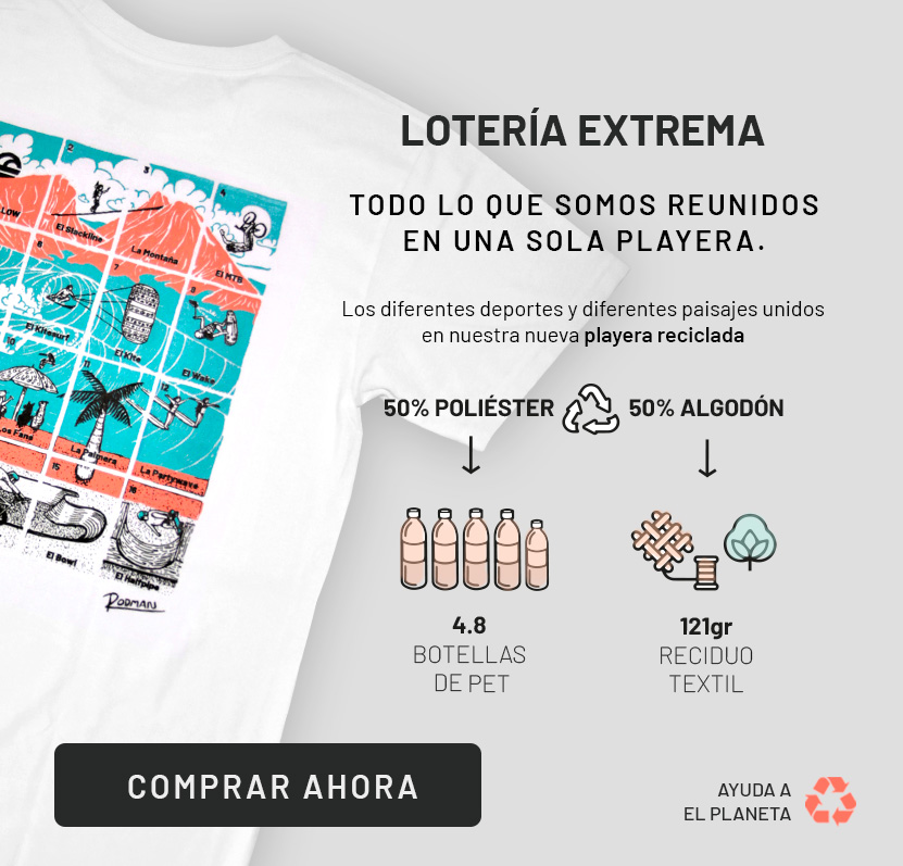 playera loteria extrema hollow